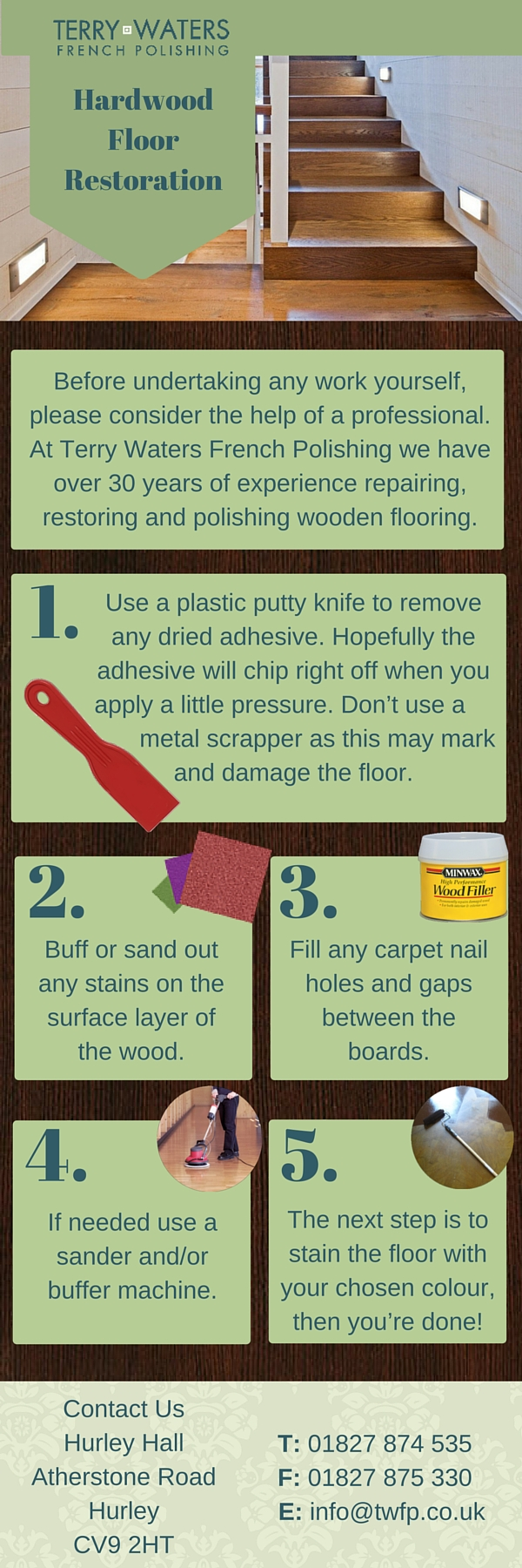 Hardwood Floor Restoration Infographic