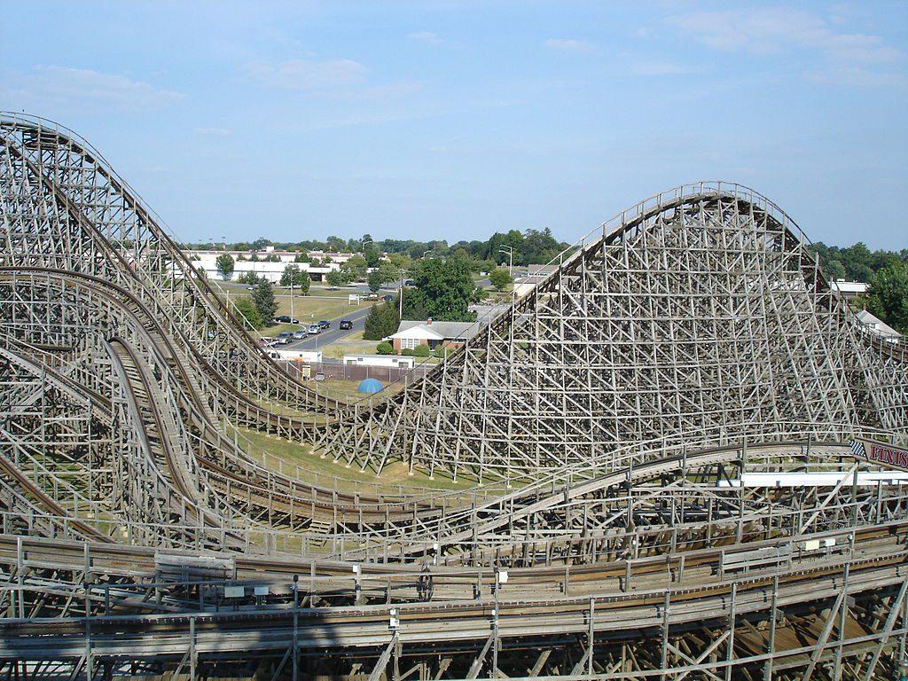 Wooden Design Americas Best Wooden Roller Coasters Terry