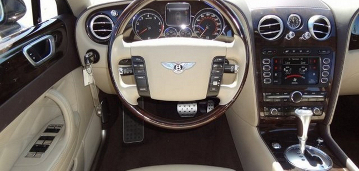 bentley flying spur car leather interiors
